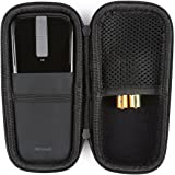 Caseogy EVA Protective Carrying Case For Microsoft Arc Touch Mouse Hard EVA Shockproof Travel Storage Pouch Cover Bag, Black