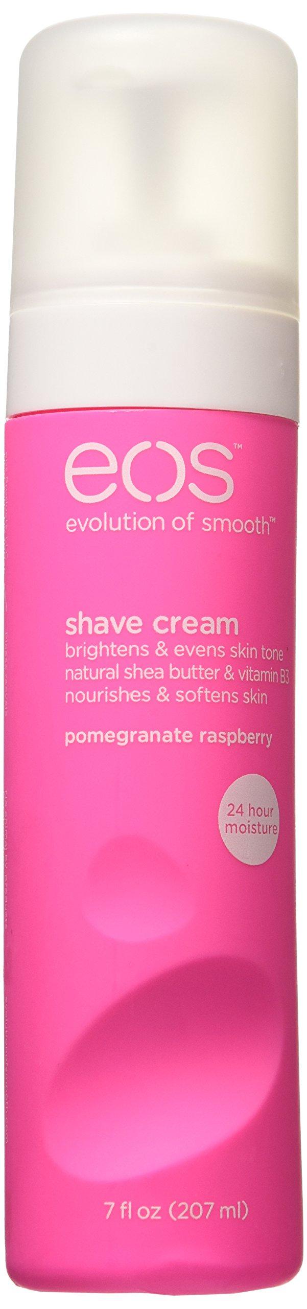 EOS Shave Cream, Pomegranate Raspberry, 7 oz (Pack of 6)