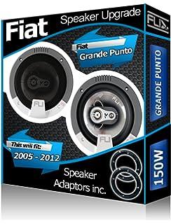 Fiat Grande Punto puerta trasera de altavoces errece altavoz para coche adaptador pods + juego de