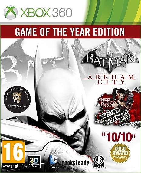 Batman: Arkham City - Game Of The Year Edition: Amazon.es: Videojuegos