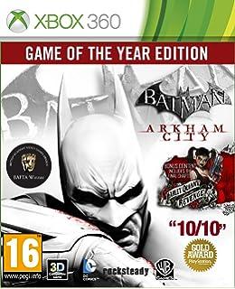 Import Anglais]Batman Arkham Asylum Game Of The Year Edition (GOTY) Game (Classics) XBOX 360: Amazon.es: Videojuegos