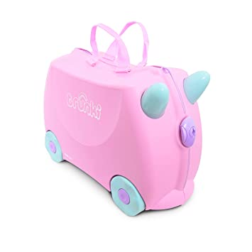 face0b463 Trunki 10110 - Equipaje infantil, 18 liters, color rosa: Amazon.es: Equipaje