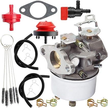 Carburetor Fit for Tecumseh 5HP 4HP 632107 640084 640105 632107A Snow Blower