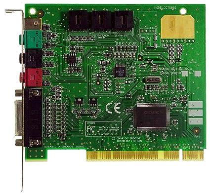 CREATIVE PCI Tarjeta de Sonido ct5803 PNP id172: Amazon.es ...