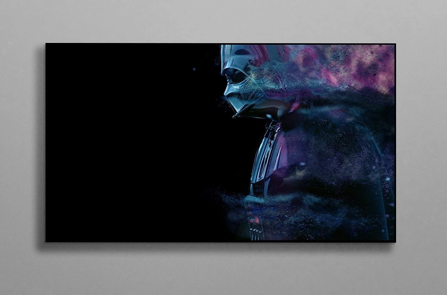 """Print Sci Fi Decor Compatible with Star Wars Poster Wall Decor Canvas Art Wall Art Print Gift Poster Unframed Printing Size - 11""""x17"""" 18""""x24"""" 24""""x32"""" 24""""x36"""" (S - 11""""x17"""" (28x43cm))"""