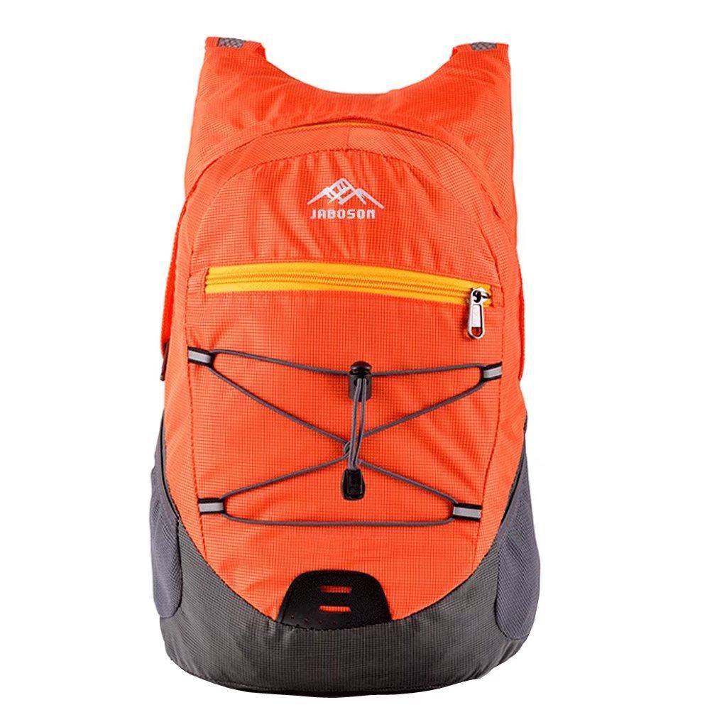 Mochila Plegable, Jayboson Mochila Bolsa Plegable Impermeable Unisexo Ultra Ligero de Nylon para Trekking Viajes al Aire Libre Ciclismo 20L (Azul)