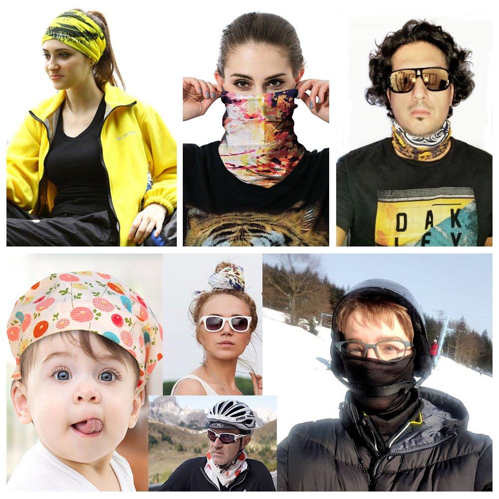 Magic Headwear Rose Love Outdoor Scarf Headbands Bandana Mask Neck Gaiter Head Wrap Mask Sweatband