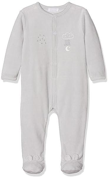 Absorba Playwear, Pelele para Bebés, Gris (Hellgrau), 86 cm