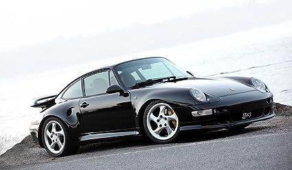 Porsche 993 Turbo 911 Carrera cumpleaños comestibles imagen foto 1/4 cuarto hoja decoración para