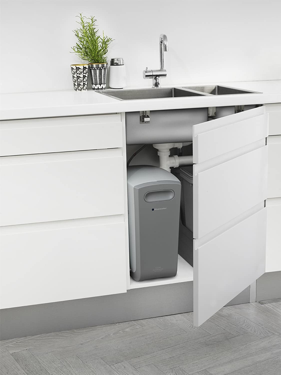 Bluewater Cleone Classic 2 Under Sink Water Purification Filtration System      Amazon.com