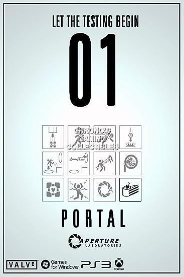Amazon.de: CGC Große Poster im Hochglanz - Portal caperture ...