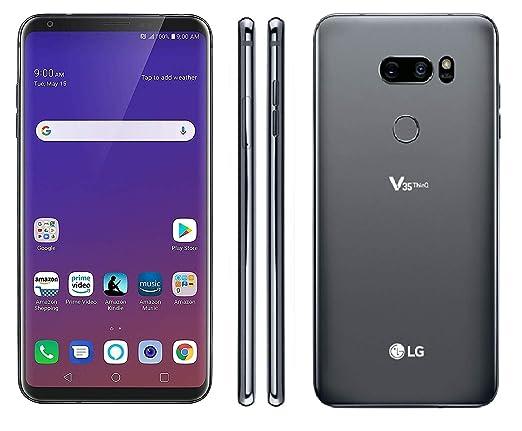 Amazon com: LG V35 ThinQ 64GB Smartphone GSM Unlocked (AT&T