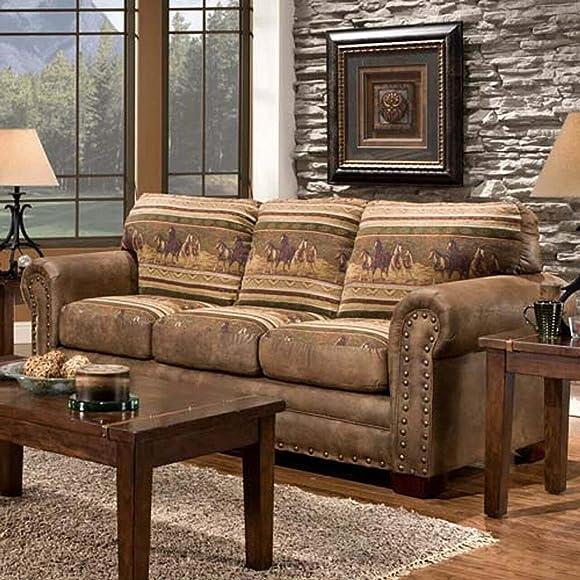 American Furniture Classics Wild Horses Sleeper Sofa