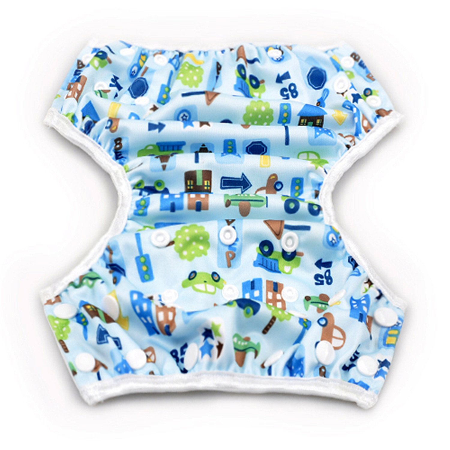 Storeofbaby Swim Diapers for Baby Boys and Girls Reusable Adustable 0 3 Years