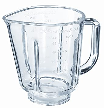 Jarra de repuesto de cristal KitchenAid para licuadora de 1.5L (KSB555 etc): Amazon.es: Hogar