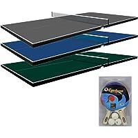 Martin Kilpatrick Ping Pong Table for Billiard Table | Conversion Table Tennis Game Table | Table Tennis Table w/Warranty | Conversion Top for Pool Table Games | Table Top Games | Ping Pong Table Top