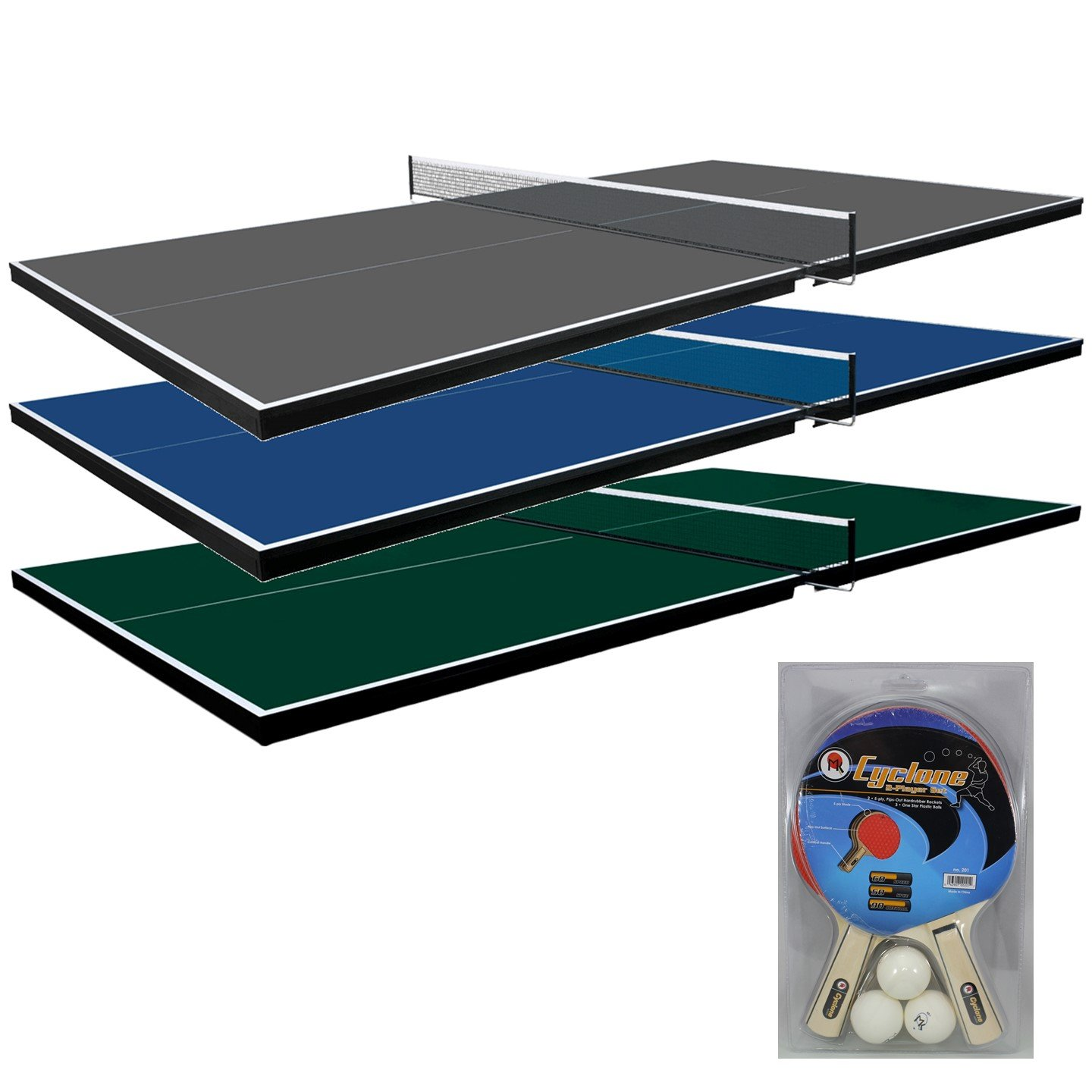 Martin Kilpatrick Ping Pong Table for Billiard Table | Conversion Table Tennis Game Table | Table Tennis Table w/ Warranty | Conversion Top for Pool Table Games | Table Top Games | Ping Pong Table Top