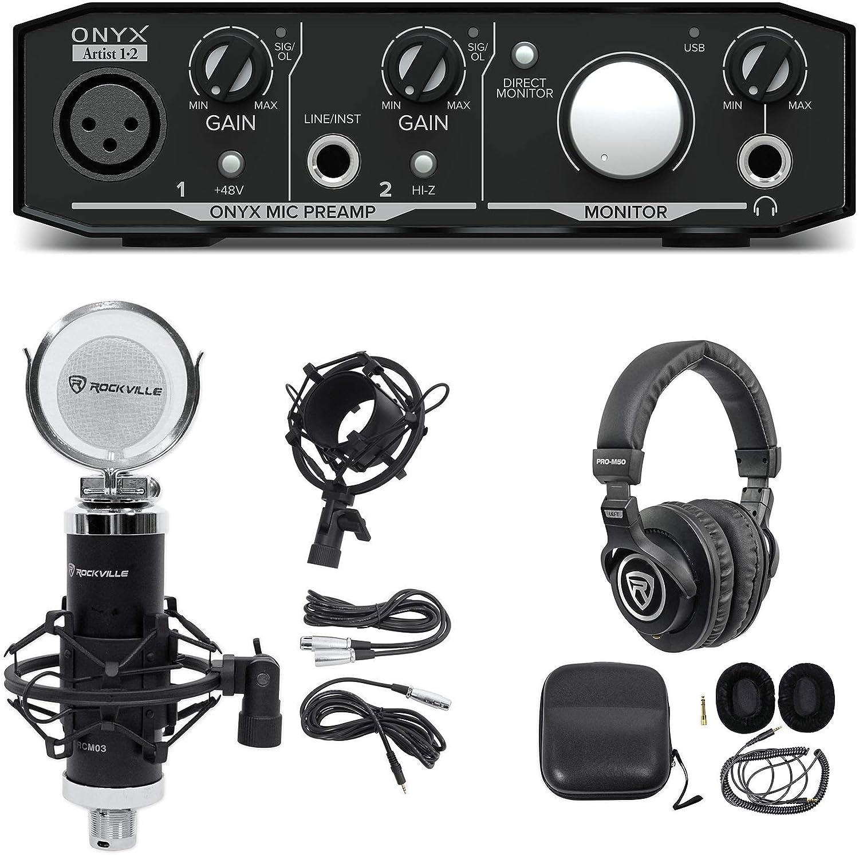 Stand Mackie Onyx Artist 1.2 2x2 USB Audio Recording Studio Interface