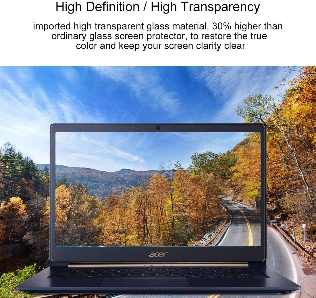 Laptop Screen HD Tempered Glass Protective Film for Acer Swift 5 Laptop SF514-52T-50AQ 14 Inch