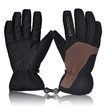ea9e7a1f95 ORSEN Skihandschuhe Winter Ski Snowboard Handschuhe Winterhandschuhe  Wasserdicht Winddicht Sport handschuh für Skifahren Farradfahren Radfahren  Wandern