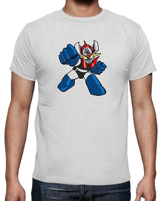 The Fan Tee Camiseta de Hombre Mazinger Z Anime Manga Retro: Amazon.es: Ropa y accesorios