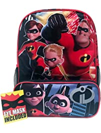 f0b95e8cfa6e Accessory Innovations Incredibles Backpack Lunchbox Combo with Two Mesh  Pockets