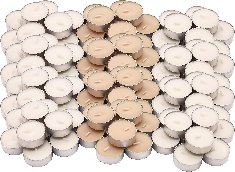 Velas perfumadas Aroma a Vainilla, 120 Unidades Ikea SINNLIG