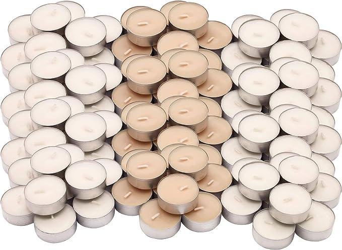 Ikea SINLIG - Juego de 30 velas aromáticas de vainilla dulce (4 ...