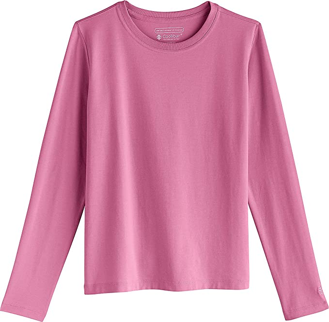 Kids Long Sleeve Everyday Graphic T-Shirt Sun Protective Coolibar UPF 50
