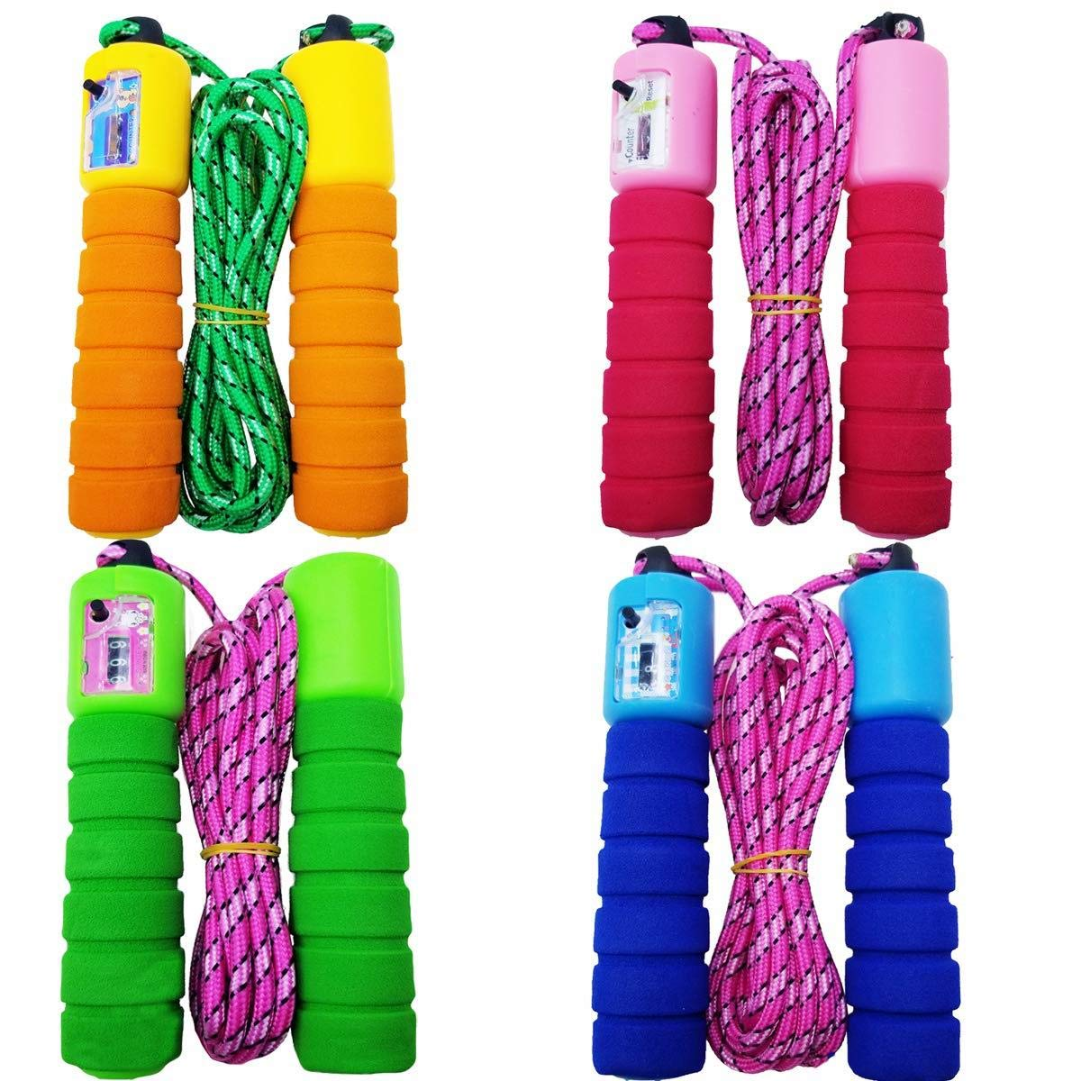 Professional Skipping Rope Auto Counting Jump Rope Anti-slip Sponge Handle