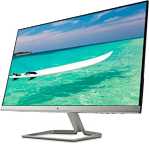 "New HP 27f Display 27"" Full HD IPS Ultra-Slim Backlit LED Micro-Edge VGA HDMI"