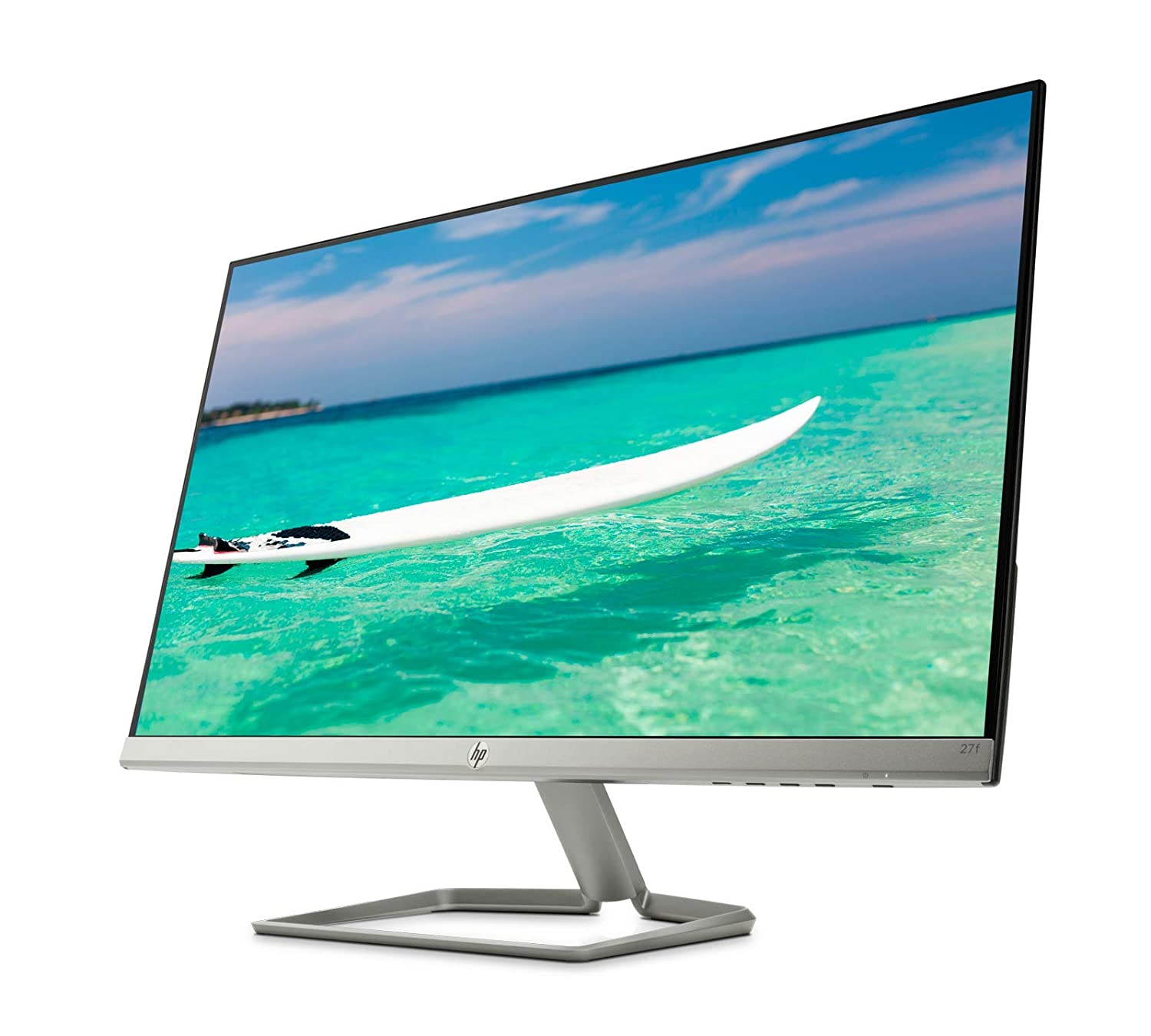 "Amazon.com: New HP 27f Display 27"" Full HD IPS Ultra-Slim Backlit"