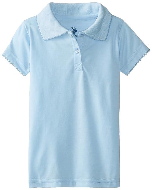 U.S. Polo Assn.. - Playera Tipo Polo - para niña 6537da753b1db