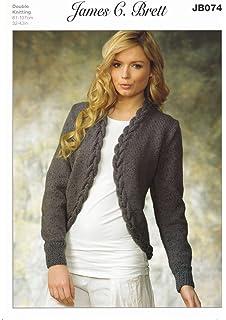 King Cole Ladies Double Knitting Pattern Womens Fairisle Sweater ...