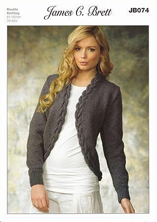Amazon James Brett Double Knitting Dk Pattern Jb074 Womens