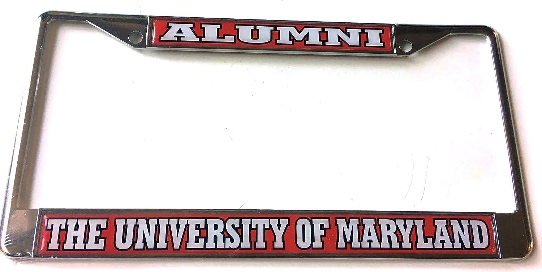 Amazon.com: University of Maryland Alumni Car Tag License Frame ...