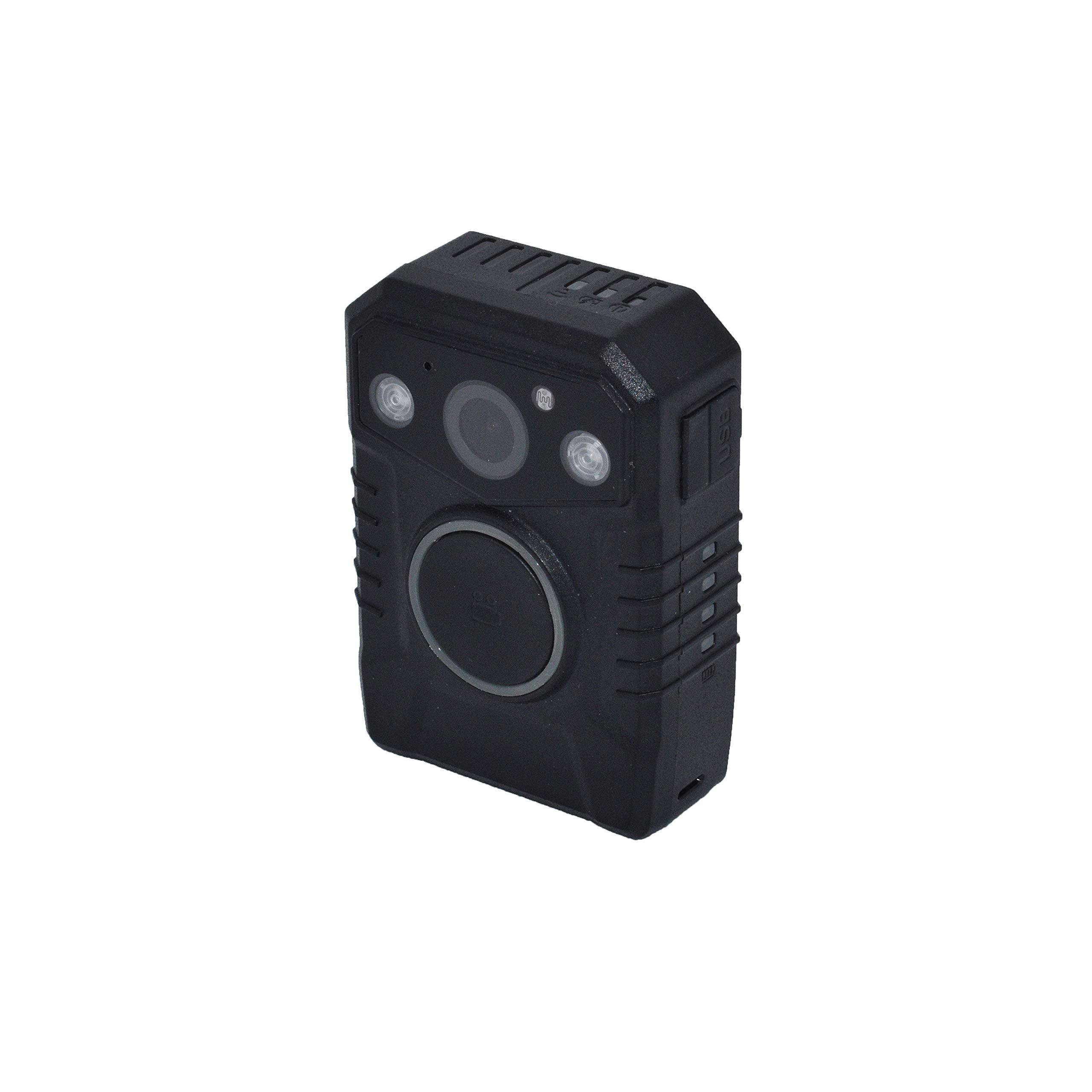 Minigadgets PCNVGPS1080P: Police Body Camera w/Night Vision, GPS Tracking, HDR