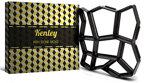 Kenley - Molde para camino de jardín – Diseño para adoquinado