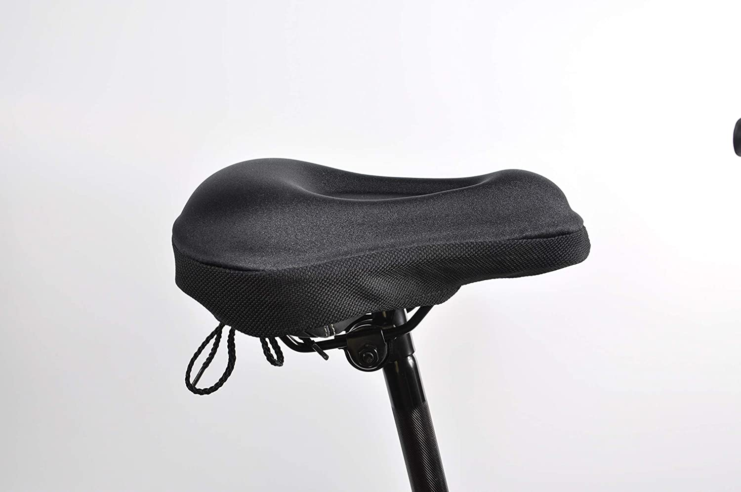 Soft Bicycle Saddle Cushion Comfortable Seat Pad for Spin Class and Indoor Cycling HOMEE Gel Bike Seat Cover