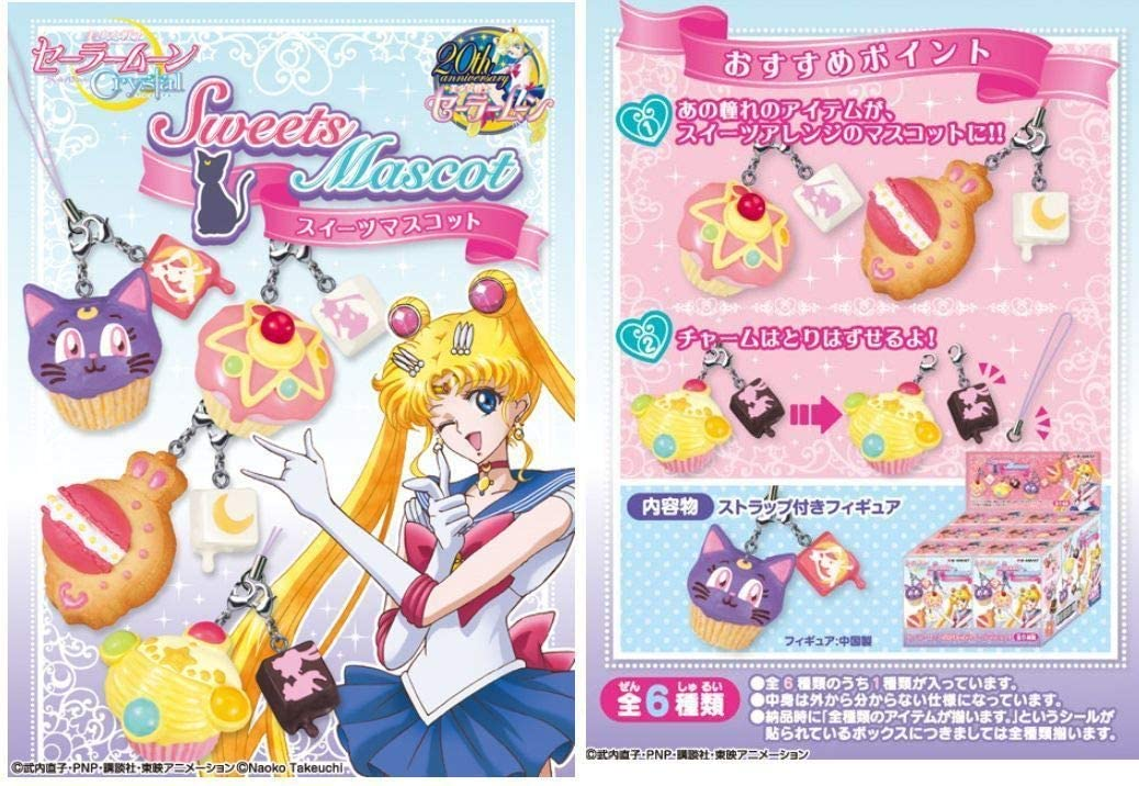 Re-Ment Sailormoon Mascot Complete Set