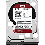 WD Red 5TB NAS Desktop Hard Disk Drive - Intellipower SATA 6 Gb/s 64MB Cache 3.5 Inch