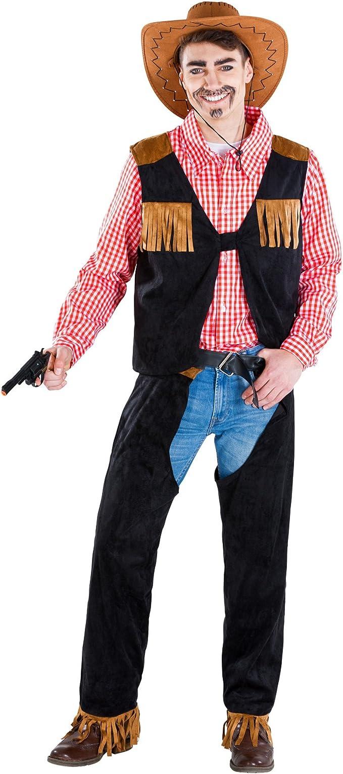 dressforfun Disfraz para Hombre Vaquero | Camisa Tradicional a ...