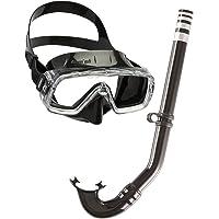 Cressi Sirena Combo Set per Adulti - Maschera Sirena Disponibile con Snorkel Mexico o Gringo