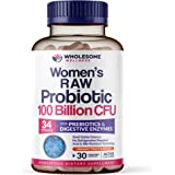 Dr. Formulated Raw Probiotics for Women 100 Billion CFUs with Prebiotics, Digestive Enzymes, & UT Support, Approved Women's P