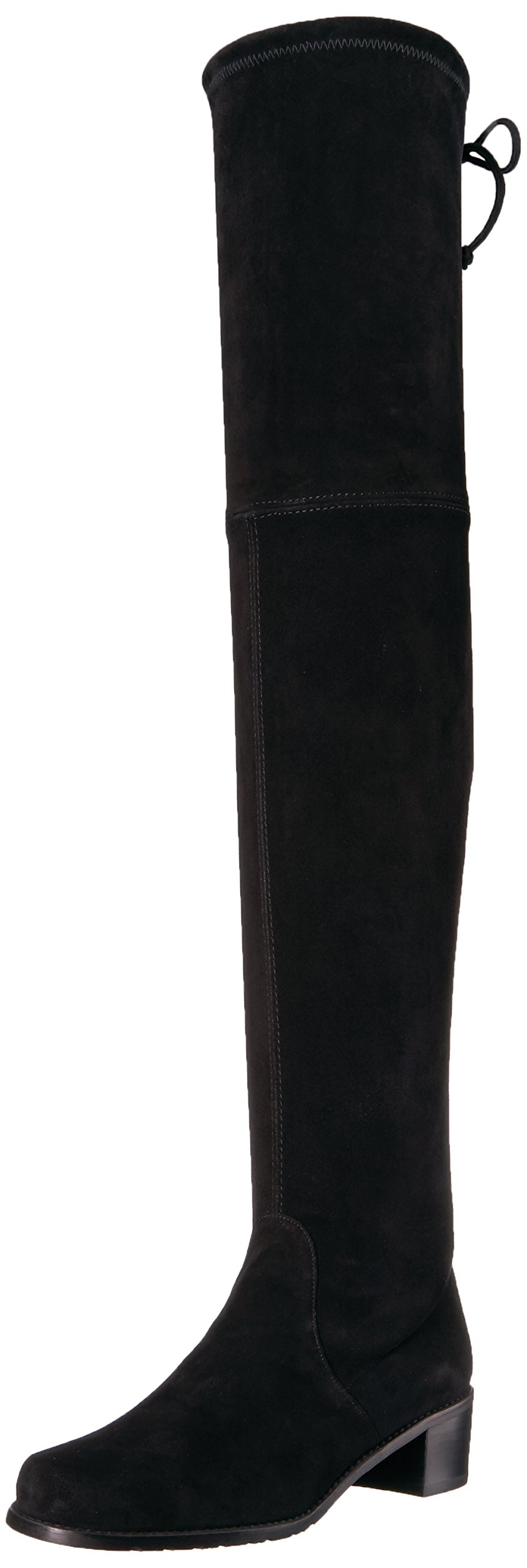 Stuart Weitzman Women's Midland Over The Knee Boot, Black, 7.5 Medium US