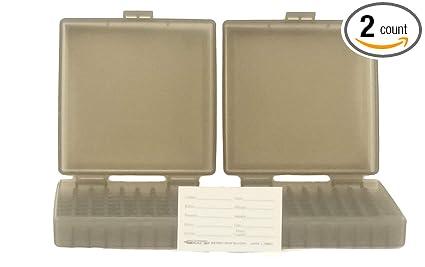 BERRY'S Plastic Ammo Box, Smoke 100 Round 9MM / 380