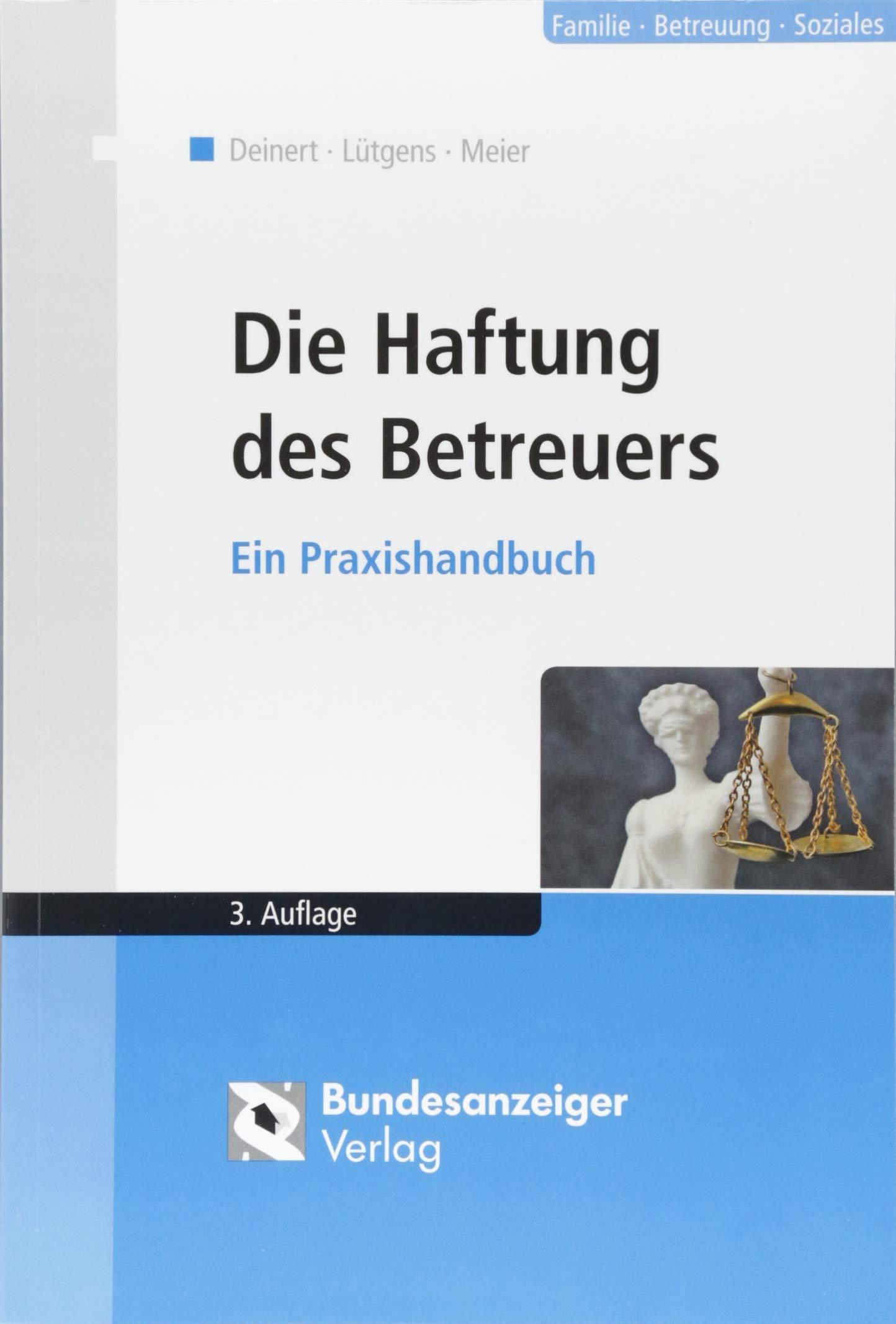 Die Haftung Des Betreuers Ein Praxishandbuch Amazonde Horst