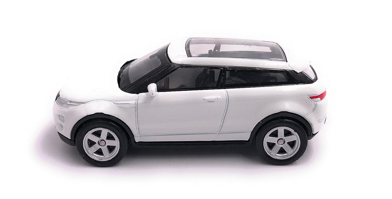 H-Customs Range Rover Evoque Modellauto Auto Lizenzprodukt 1:60 Wei/ß Weiss OVP