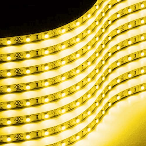 Zone Tech 30cm Flexible Waterproof Yellow Light Strips – 8-Pack LED Car Flexible Waterproof