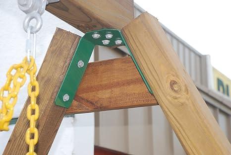 Amazon.com: Playkids A-frame Bracket Heavy Durty Swing Set Play Set ...